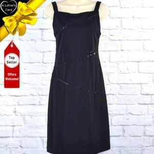 Sequin Accented Butterfly Shoulder Strap Dress